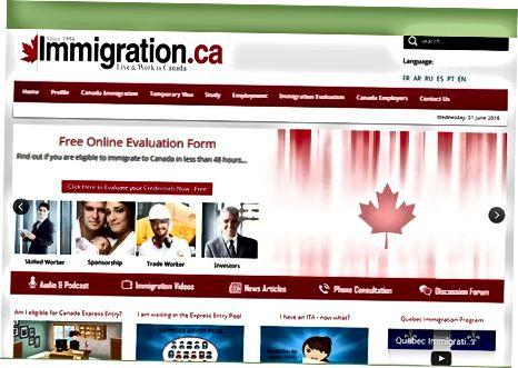 Проверка на статута ви на канадска виза