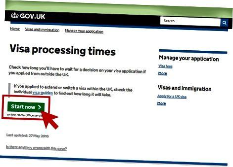 Проверка на състоянието на визата ви във Великобритания