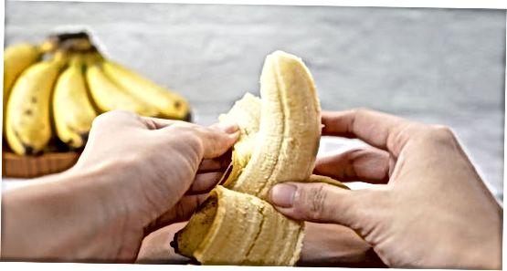 Šaldyti supjaustyti bananai kokteiliams ir pieno kokteiliams