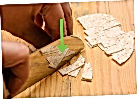 Tortilla chiziqlarini yasash