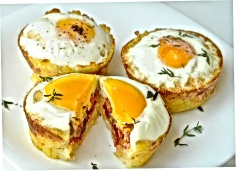 Paggawa ng Basic Hash Brown Egg Nests