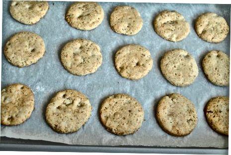 Chewierテクスチャ用のクッキーの保存