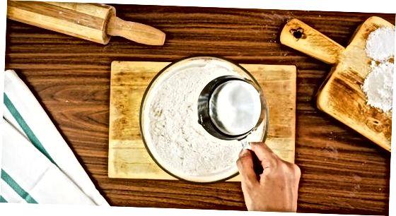 """Paprastų """"Roti Flatbreads"""" gaminimas"""