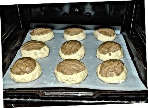 Baking the Rolls