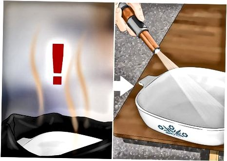 تمیز کردن Corningware خود را با اجاق گاز