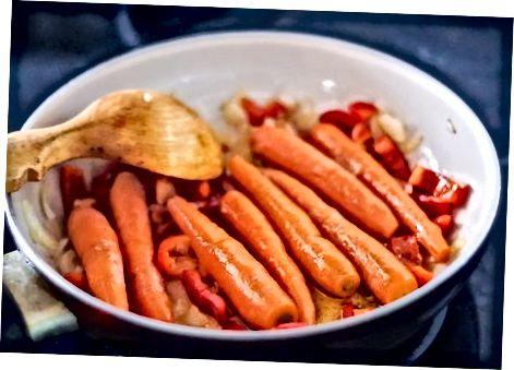 Посмажте моркву