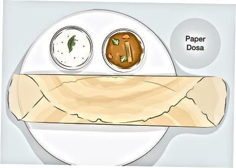 Ngrënia e llojeve të ndryshme të Dozës
