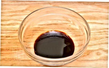 Balzamiko vinaigretės gaminimas