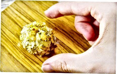 Ustvarjanje veganskih kokosovih limoninih tartufov
