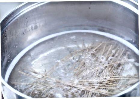 Buchweizennudeln (Soba) kochen