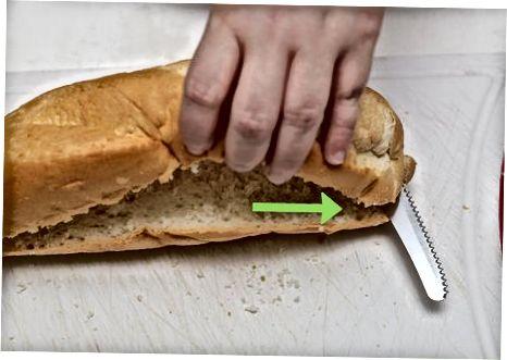 Frantsuzcha jambon va pishloqli sendvich tayyorlash