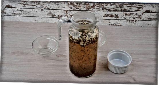 יצירת תערובת תה צמחים משלך