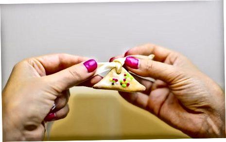 De koekjes veranderen in gors