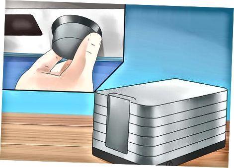 Verwenden eines Dörrgeräts