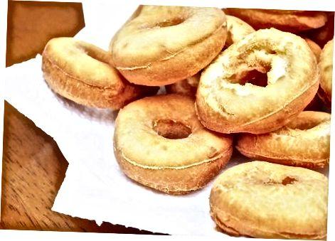 De donuts maken