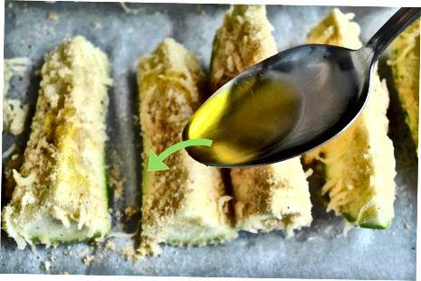 Orkaitėje keptos cukinijos bulvytės