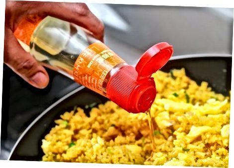 Gebakken curryrijst maken