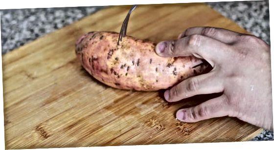 Mikrovalovnost vašega sladkega krompirja