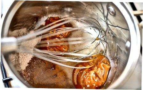パームシュガーシロップを煮る