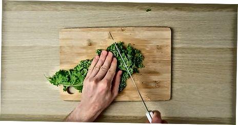 Përzierja e Kale me ushqime të tjera