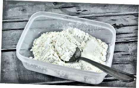 Emmagatzematge de mantega en pols
