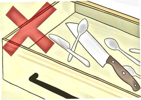 Ruajtja e thikës tuaj