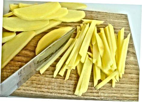 Preparare i brandelli di patate