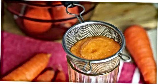 Прыгатаванне маркоўнага соку з дапамогай блендера або кухоннага камбайна