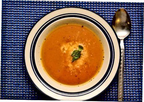 Kreminės veganiškos sriubos