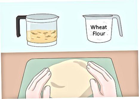 Fazendo a base do molho de soja