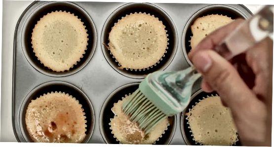 ტირამისუ cupcakes
