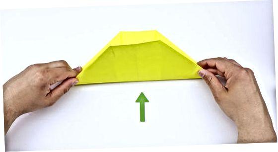 Готовим оригами поппер