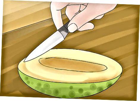 切碎哈密瓜