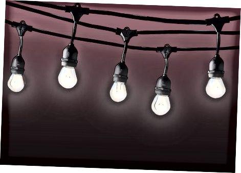 रोशनी के प्रकार का चयन करना