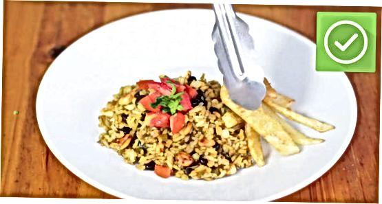 Vegetarische vuile rijst maken