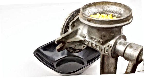 Verwendung einer Getreidemühle