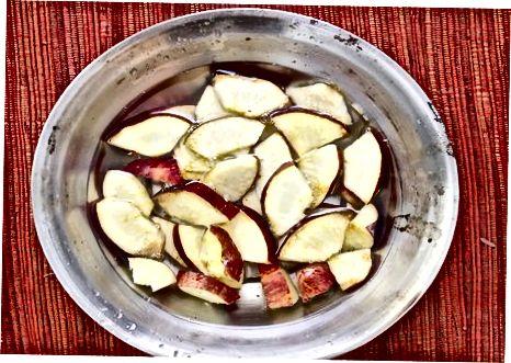 ჟელე მომზადება ვაშლით