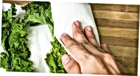 Curly Kale auswählen und vorbereiten