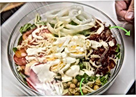 Qatlamli marul salatasi