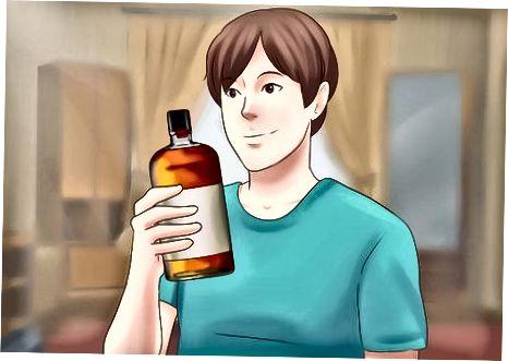 Fshehja e alkoolit mbi personin tuaj