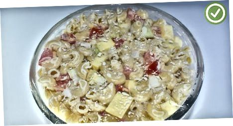 Cheesy makaronsalat