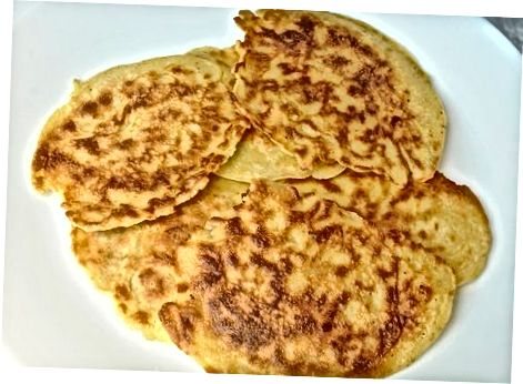 Xushbo'y retseptlardagi pancake batareyasini o'z ichiga oladi