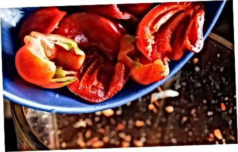 Kuhanje domače vroče omake