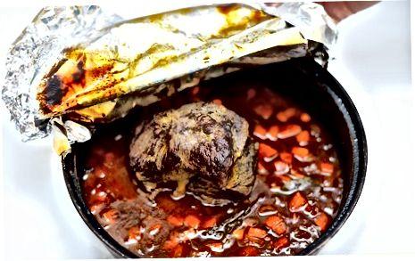 پخت و پز قابلمه کباب شده با قابلمه