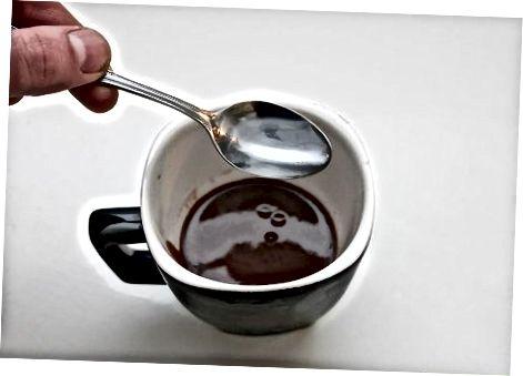 Romige vla van chocolade