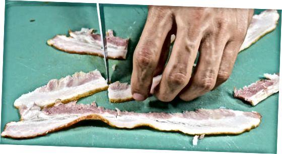 Ofengebackene Leber mit Zwiebeln und Speck machen