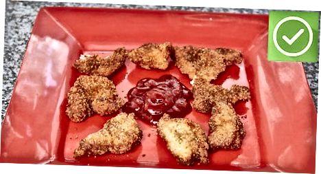 Pittige kipnuggets maken