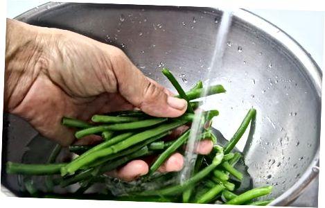 Одмрзавање поврћа пре печења