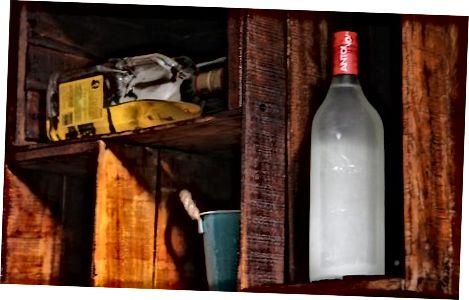 Escollir un lloc per emmagatzemar el vostre vodka