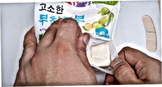 Bir kechada Tofu muzlatish